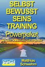 Selbstbewusstseinstraining Powerpaket 2in1 Plus Online-Audio-Selbsthypnose by...
