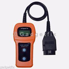 US Car Diagnostic Scanner Tool U480 CAN OBDII OBD2 Memo Engine Fault Code Reader