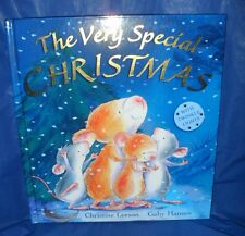 """""""THE VERY SPECIAL CHRISTMAS""""   HARDBACK BOOK WITH TWINKLE LIGHTS   *LIKE NEW*"""