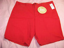 Dockers Game Day Men's Straight Fit Flat Front Louisville Cardinals Shorts Nwt