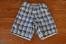 Mens HOLLISTER Blue/White Shorts/Swim Shorts ~SIZE 28~ NICE!!