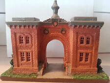 GETTYSBURG CEMETERY GATE HOUSE HAND PAINTED METAL CIVIL WAR SCENE NEW