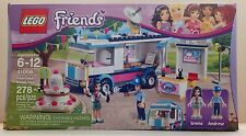 LEGO Friends 41056 HEARTLAKE NEWS VAN ~ Emma & Andrew ~ NEW ~ Factory Sealed