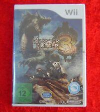 Monster Hunter 3 tri, Nintendo Wii Spiel Neu, deutsche Version