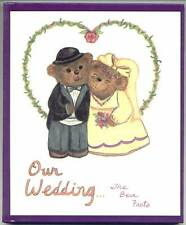 OUR WEDDING... The Bear Facts - Personalized Adult Book - Keepsake For Newlyweds
