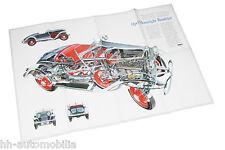 Poster Opel Moonlight Roadster 1932 Beilage Opel Magazin Start 1980er J Auto PKW