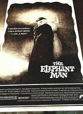 Vintage 1980 DAVID LYNCH THE ELEPHANT MAN Cardboard Lobby Standee JOHN HURT