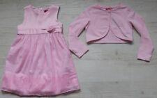 s.OLIVER GIRLS KLEID FESTLICH MIT BOLERO JACKE NEU Gr. 92 / 2 Y / 18-24 mon