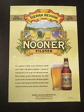 Sierra Nevada Nooner Pilsner Beer Poster (Official)