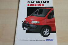 105539) Fiat Ducato-Accessories Brochure 06/1995