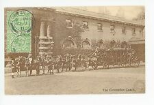 Coronation Coach—Antique London Royalty Horses King STAMPS England 1911
