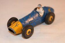 Dinky Toys 234 Ferrari racing car with yellow metal hubs very nice model     *7*