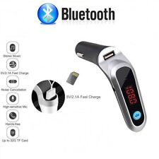 Car Cigar Plug Bluetooth FM Radio Transmitter MP3 Adapter Kit Fast USB Charger