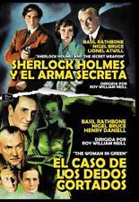 Pack Sherlock Holmes Y El Arma Secreta + El Caso De Los Dedos Cortados