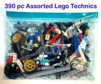 390 pieces Genuine Assorted Technic LEGO - Washed & sterilised!