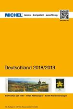 Michel Katalog Deutschland catalogue Germany catalogus Duitsland 2018/2019 sale!