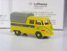 Klasse: Wiking VW T1 Doka Doppelkabine Lufthansa in OVP