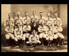 1889 Brooklyn Bridegrooms Team PHOTO Print, b4 Dodgers, Beat St Louis Browns