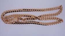 "200 Grams Miami Cuban Link Chain Necklace 10K Solid Rose Gold 10.5 MM 30"" ASAAR"