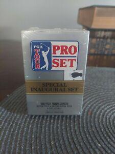 1990 Pro Set PGA TOUR GOLF 100 Card Inaugural Factory Sealed Set