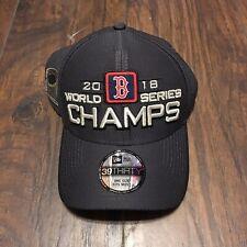 67b67def2d2 Boston Red Sox Era 2018 ALCS Champions World Series Locker Room 39thirty Hat