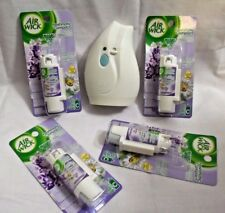 Air Wick Freshmatic Compact Automatic Spray plus 4 refills Lavender & Charmomile
