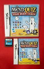 Mind Quiz - Your brain coach - Nintendo DS - USADO - BUEN ESTADO