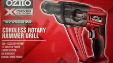 OZITO 18V CORDLESS ROTARY HAMMER DRILL SKIN POWER TOOL XCHANGE DRIVER LITHIUM