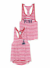 On Sale Victoria/'s Secret Top Pink Summer Sleeveless Long Size Large Junior Side Ties