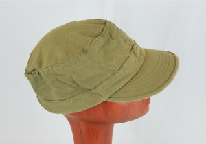 Women's D&Y Cadet Military Style Army Hat Cap / Olive Green / Cotton / One Size