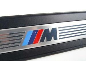 orig. BMW 5er F10 F11 LCI M Performance Einstiegsleisten Vorne Rechts + Links