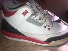 jordans size 6.5 boys. Fire Red 3s