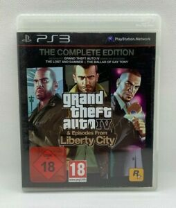 PS 3 - GTA 4 - Grand Theft Auto - The Complete Edition - PlayStation3 - Wie Neu