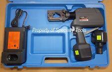 Huskie Rec-558U Robo hydraulic battery crimper W type die crimp crimping tool