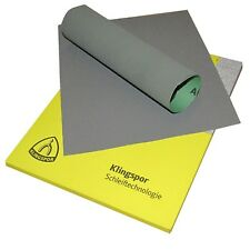 5 SHEETS 2000 GRIT WET AND DRY GRAIN SANDPAPER KLINGSPOR PACK OF 5 SHEETS