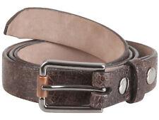 "Brunello Cucinelli women's crocodile leather belt size M Italy 42 US 6"" GB 10"