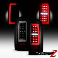 For 15-19 Chevy Colorado [BLACK SMOKE] OLED Light Bar LED Backup Tail Brake Lamp