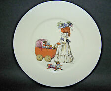 Lenox Child's Plate Girl with Doll Stroller 8""