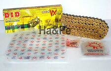 Aprilia RSV 1000 Mille DID Kettensatz chain kit VX 525 G&B gold 1998 - 2003