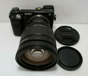 Sony E-mount adapted TAMRON 28-200 mm f/3.8-5.6 Aspherical Universal ZOOM Lens