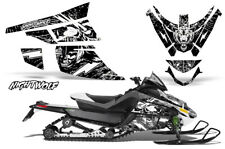 Arctic Cat Z1 Turbo Decal Graphics Kit Sled Snowmobile Wrap 06-12 NIGHTWOLF WHT