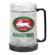 South Sydney Rabbitohs NRL Gel Ezy Freeze Beer Stein Frosty Mug Cup Man Cave Bar