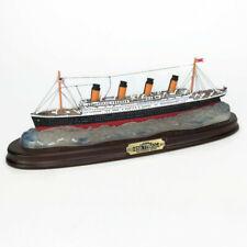 "RMS The Titanic Danbury Mint Replica Ship Sculpture 14"" Centennial Edition 2012"