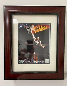 "Allen Iverson Philadelphia 76ers Autographed 8"" x 10"" Photograph framed & matted"