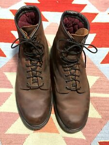 Red Wing Boots Size 12 EEE 1210 Soft Toe USA  Brown Wide Insulated Work Boots