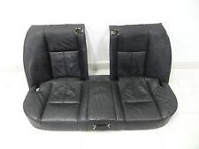 Original BMW E38 750i Rear Seat Bench Leather Black Montana Drink Holder Leather