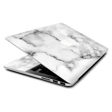 Skin Wrap for MacBook Pro 15 inch Retina  Grey and White Marble panel