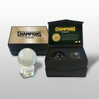 SOCCEROOS 2015 ASIAN CUP CHAMPIONS SUCCESS CRYSTAL BALL IN DISPLAY BOX CAHILL