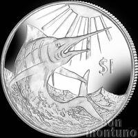2017 BLUE MARLIN - CuNi Copper Nickel UNC 5 Dollar Coin - British Virgin Islands