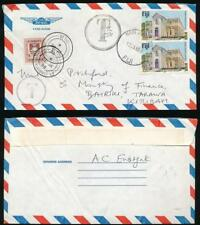 FIJI to KIRIBATI POSTAGE DUE 1988 EASTGATE to PITCHFORD MINISTRY of FINANCE